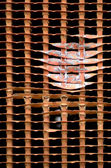 Radiator Grille Abstract — Stock Photo
