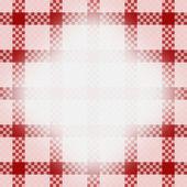 Frame on fabric — Stock Photo