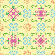 Abstract seamless repeat pattern - Grafika wektorowa