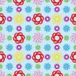Abstract seamless repeat pattern - ベクター素材ストック