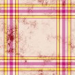 Tartan grunge background — Stock Photo