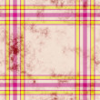 Tartan grunge background - Stock Photo