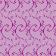 Seamless curled repeat pattern — Stockvektor #2076160