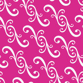 Seamless curled repeat pattern — Stock Vector