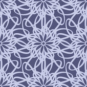 Tracery seamless pattern — Stock Vector