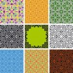 Set of arabesque seamless pattern — Stock Vector #2520697