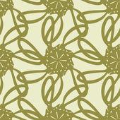 幾何学模様のシームレスなパターン — ストックベクタ