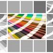 Collage color pantone — Stock Photo