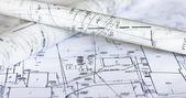 Planos e mapas — Foto Stock