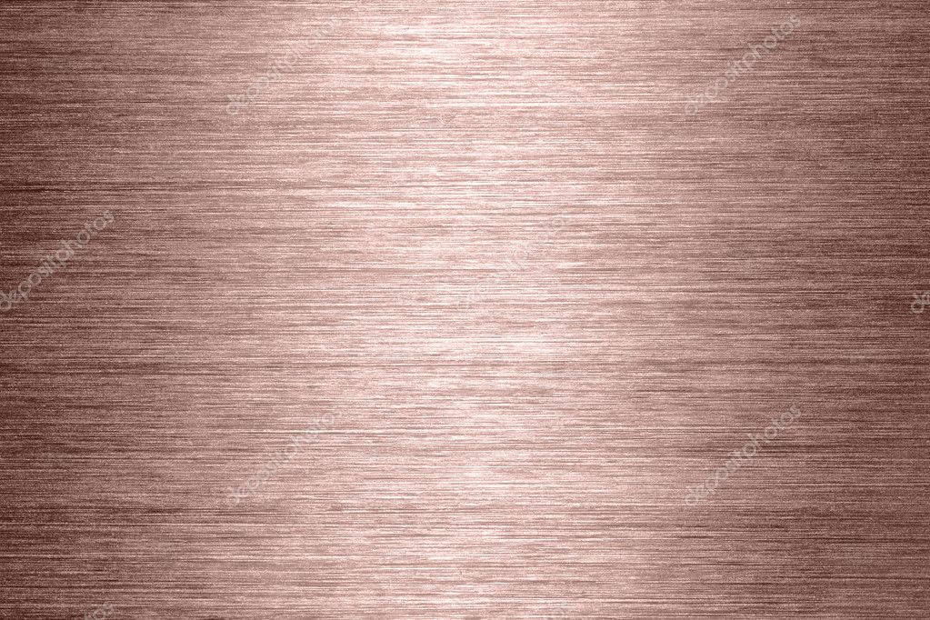 Copper brushed metal texture in background  Stock Photo #1705037
