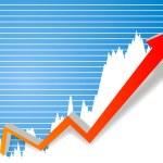 ビジネスの成功の図 — ストック写真