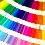 Open Pantone sample colors catalogue — Stock Photo #1723450