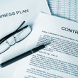 Business plan series — Stock Photo