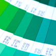 Swatch color guide. pantone — ストック写真