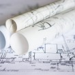 Plans and maps — Stock Photo