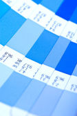 Swatch color guide. pantone — 图库照片