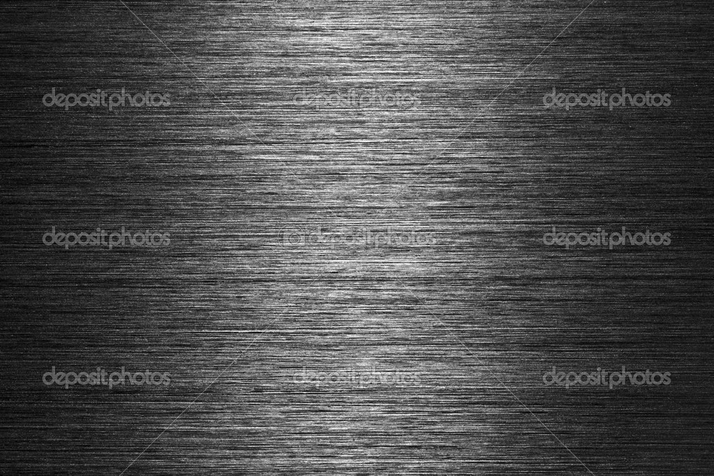Black gray brushed metal texture in background — 图库照片 #1724276
