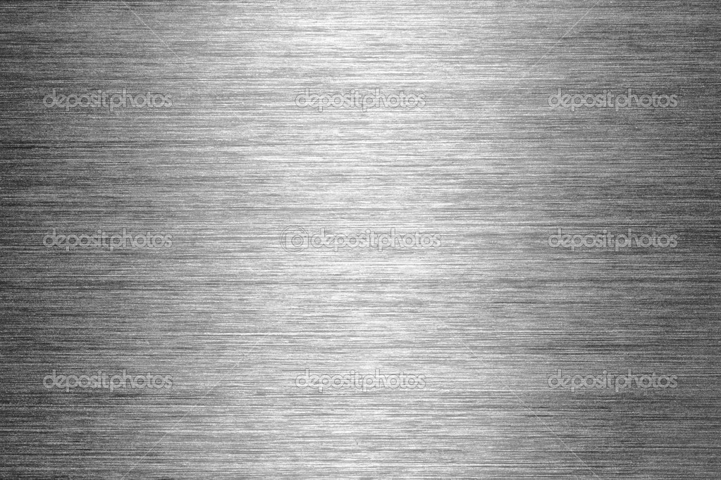 Gray brushed metal texture in background — Stock Photo #1793778
