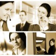 Stock Photo: Collage business