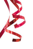 Beautiful red ribbon — Stock Photo
