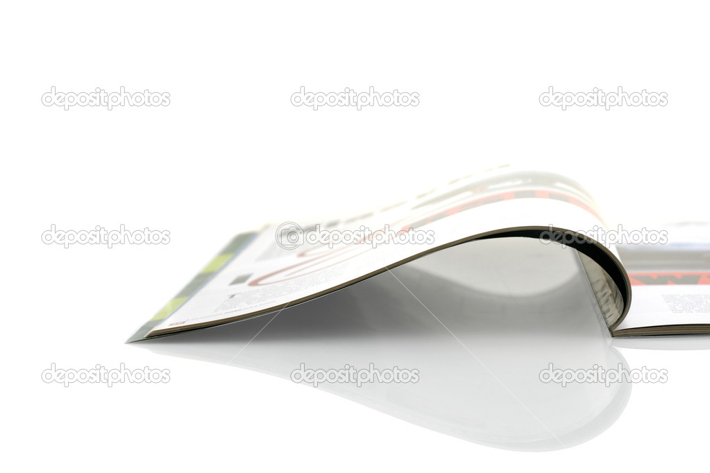 Opened magazines — Stock Photo #2015425