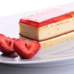 Strawberry sweet dessert — Stock Photo #2167999