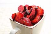 Fresh sweet strawberries — Stock Photo