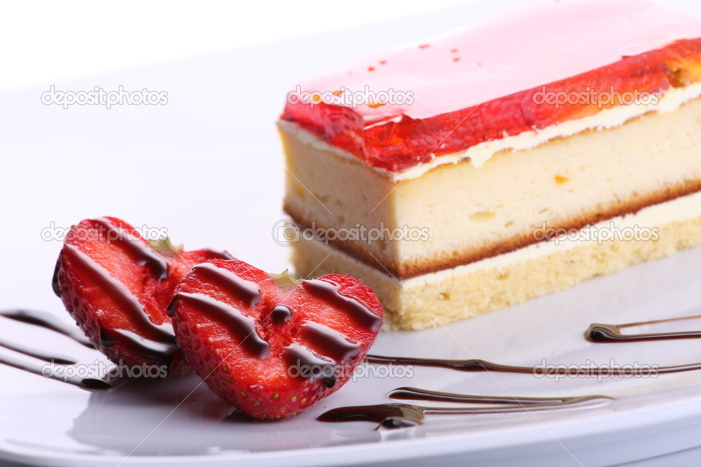 Strawberry sweet dessert — Stock Photo #2168117