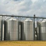 Storage tanks — Stock Photo
