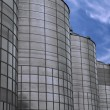Storage tanks — Stockfoto