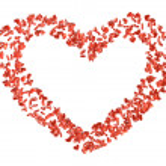 Hearts 4 — Stockfoto #1783771