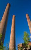 Old chimneys — Stock Photo