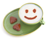 Smiling coffee — Stock Photo