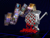 Analog to digital converter — Stock Photo