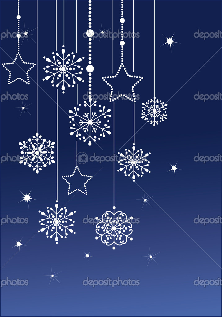 vector snowflake  — Stock Vector #1829010
