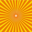 Sunburst vector — Stock Vector