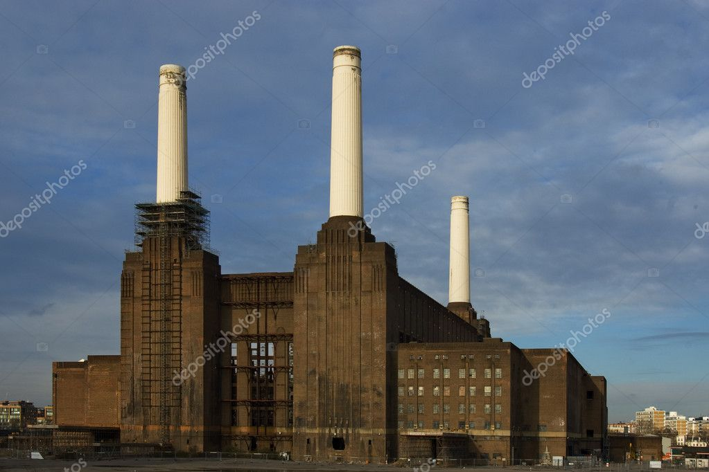 The old powerplant in london — Stock Photo #1659290