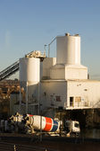 The cement factory — Stock Photo