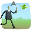 Catch jackpot — Stockfoto