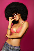 Afro Girl — Stock Photo