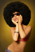 Afro Girl — Stock Photo