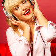Listening music 2 — Stock Photo #1930772