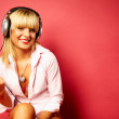 Listening music 2 — Stock Photo