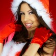 santas woman — Stock Photo #1931460