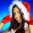Santas Woman — Stock Photo