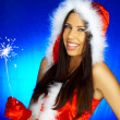 santas woman — Stock Photo #1931480