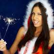 Santas Woman — Stock Photo #1931484
