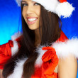 Royalty-Free Stock Photo: Santas Woman
