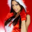 Santas Woman — Stock Photo