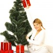 christmas gril — Stock Photo #1931995